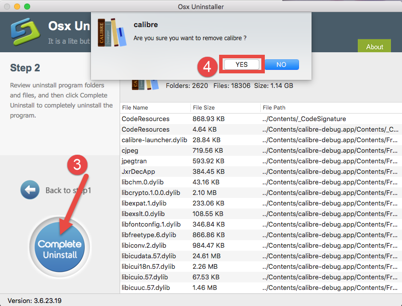 uninstalll Calibre for Mac - osx uninstaller (14)