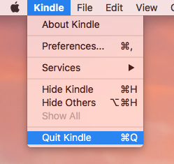 How to Uninstall Kindle for Mac