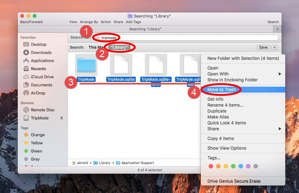 uninstall TripMode for mac - osx uninstaller (10)