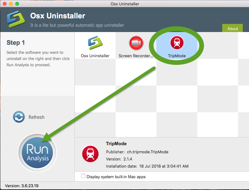 uninstall TripMode for mac - osx uninstaller (2)