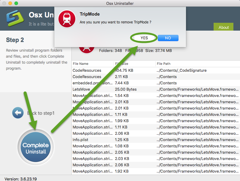 uninstall TripMode for mac - osx uninstaller (3)