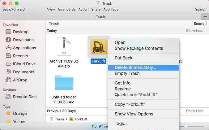 uninstall ForkLift for Mac - osx uninstaller (7)