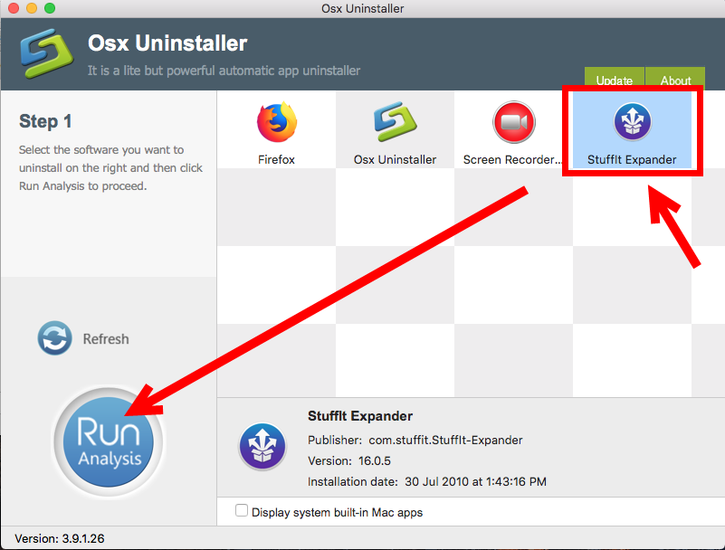 uninstall StuffIt Expander for mac - osx uninstaller (6)