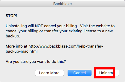 uninstall Backblaze on mac - osx uninstaller (13)