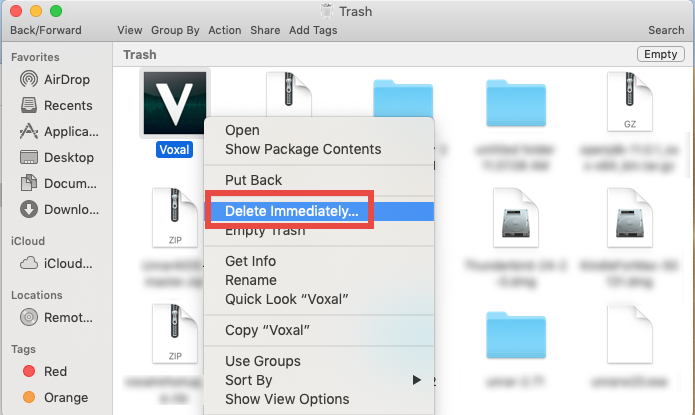 how to uninstall Voxal for mac - osx uninstaller (6)