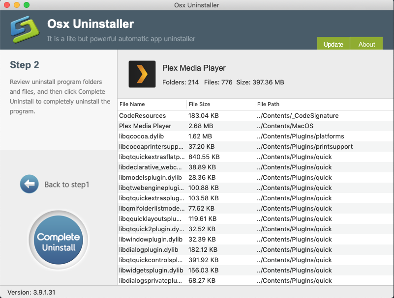 Download Osx Uninstaller to Completely Remove Plex Media Player for Mac