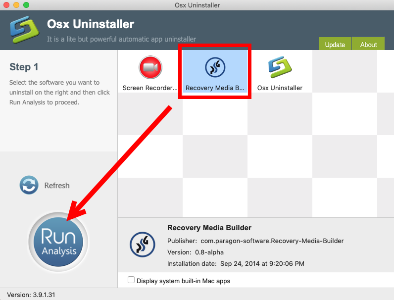 Uninstall Rescue Kit (Recovery Media Builder) for Mac - Osx Uninstaller (2)