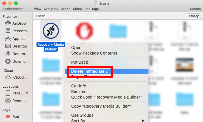 Uninstall Rescue Kit (Recovery Media Builder) for Mac - Osx Uninstaller (7)