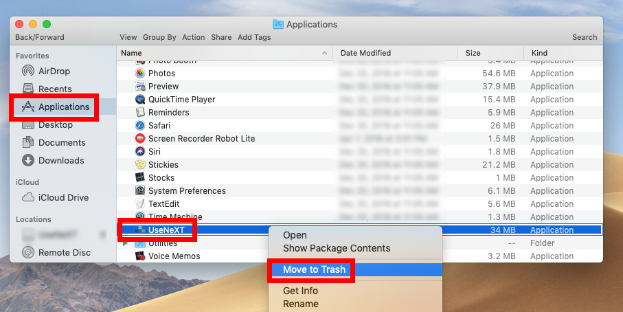 uninstall UseNeXT for Mac - Osx Uninstaller (3)
