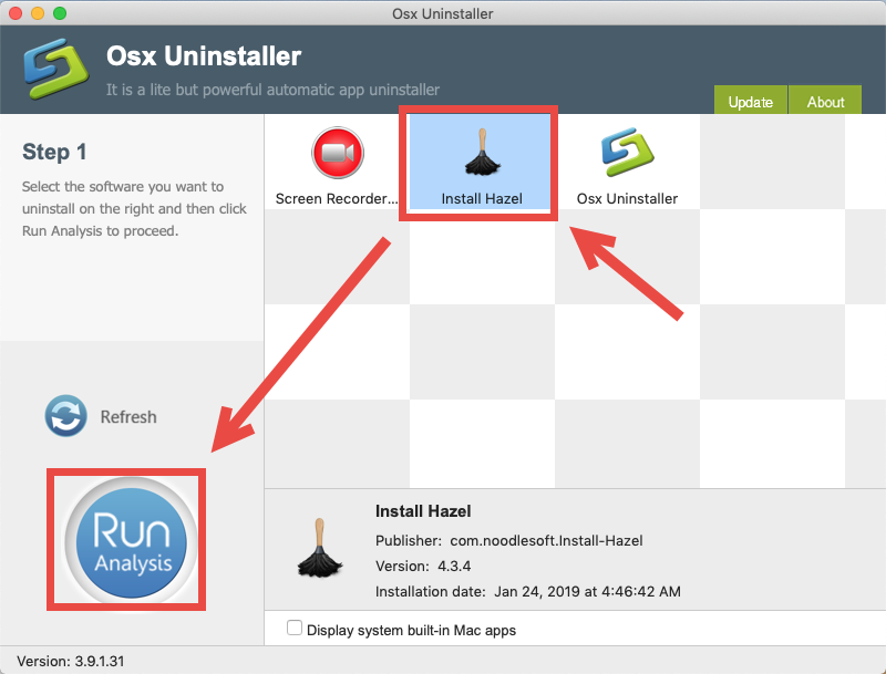 How to uninstall Hazel for Mac - Osx Uninstaller (1)