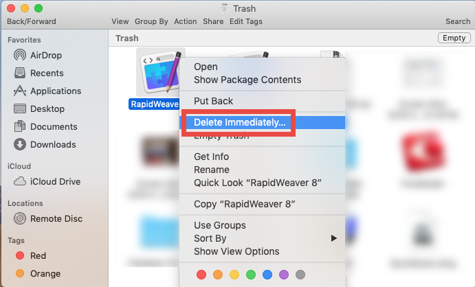 how to uninstall RapidWeaver for mac - osx uninstaller (5)