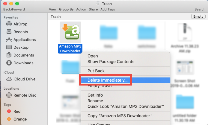 how to uninstall Amazon MP3 Downloader for mac - osx uninstaller  (6)