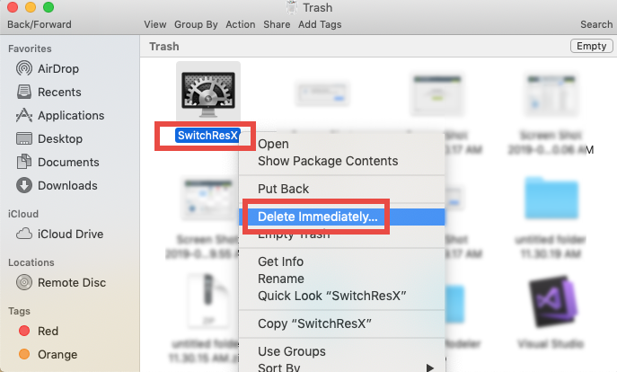 how to uninstall SwitchResX for Mac (5)