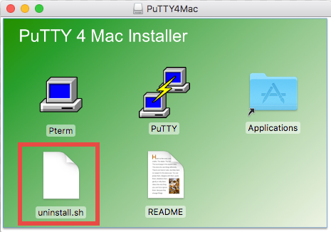 How to uninstall PuTTY for Mac - osx uninstaller (8)