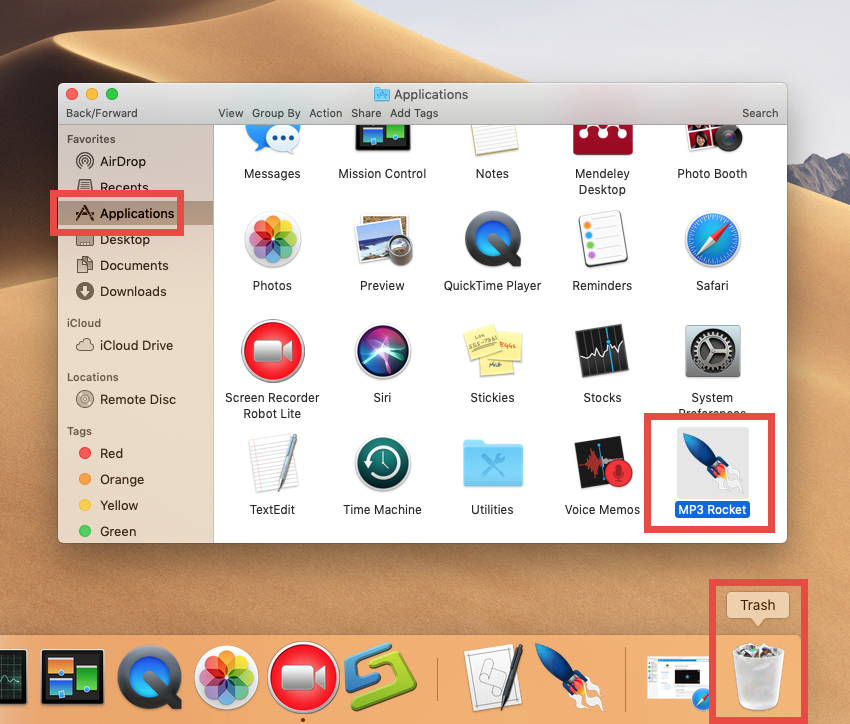 how to uninstall MP3 Rocket for mac - osx uninstaller (3)