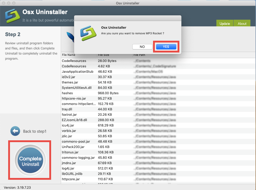 how to uninstall MP3 Rocket for mac - osx uninstaller (6)