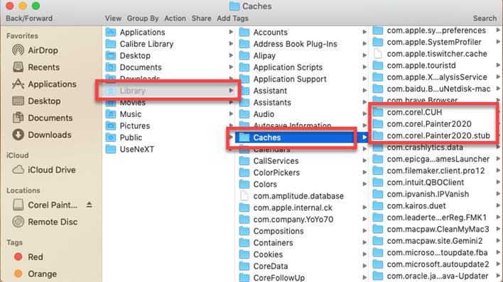 CorelPainter_caches