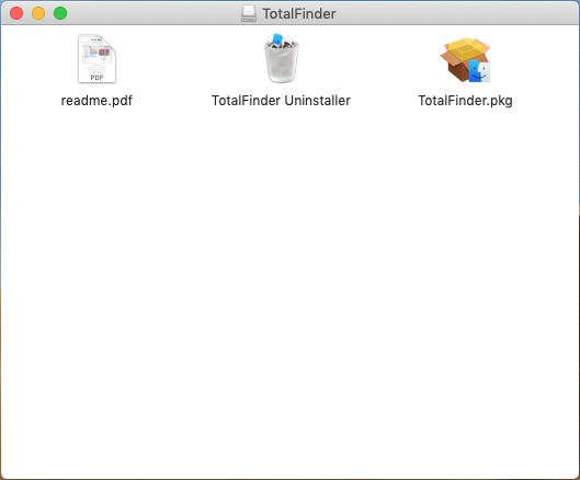 uninstall TotalFinder