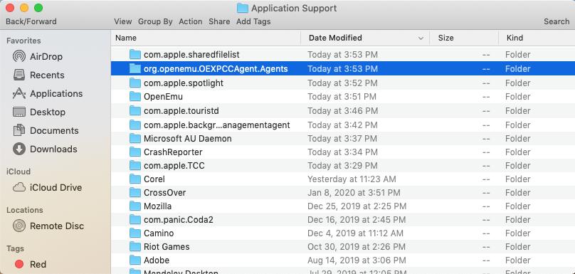 OpenEmu_application_support