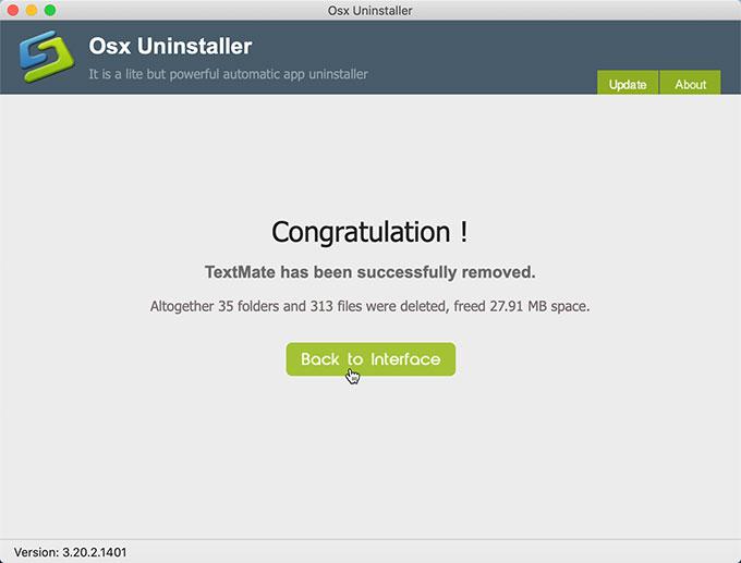 remove TextMate
