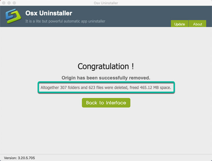 Uninstall Origin