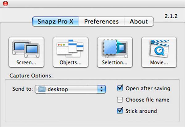 Uninstall Snapz Pro X