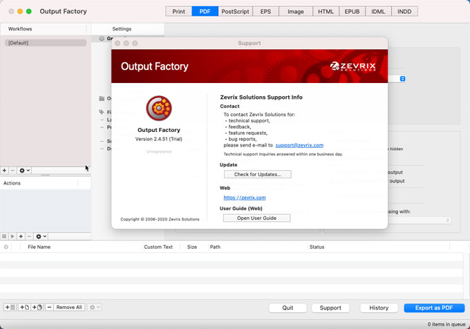 Output Factory