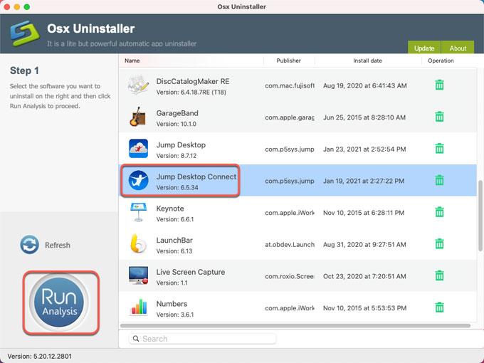 uninstall Jump Desktop
