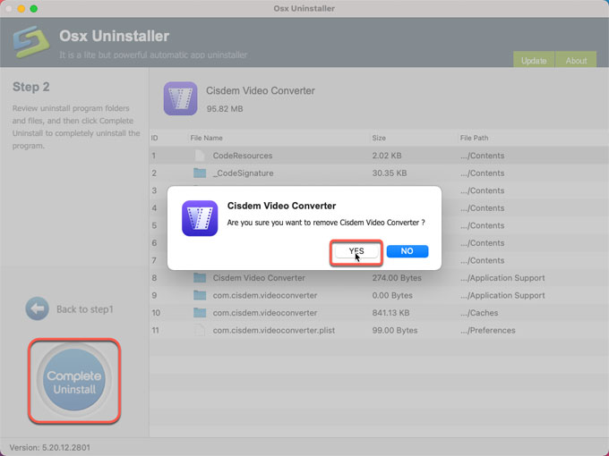 remove Cisdem Video Converter