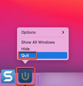 quit Usenapp