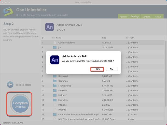remove Adobe Animate