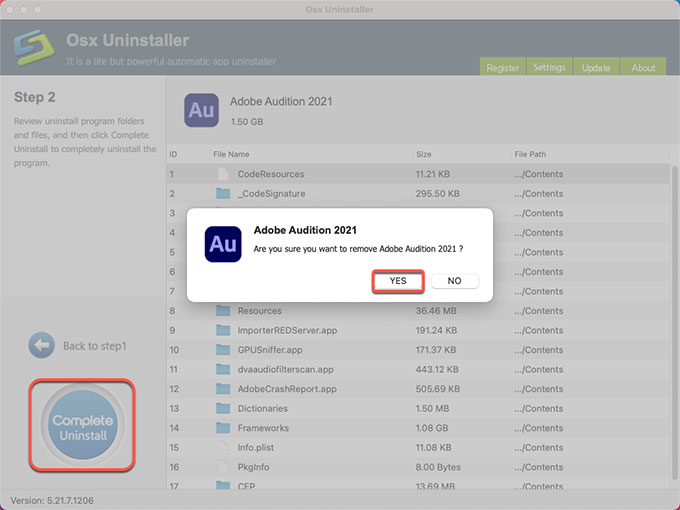 complete uninstall Adobe Audition