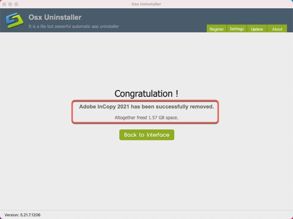 remove Adobe InCopy